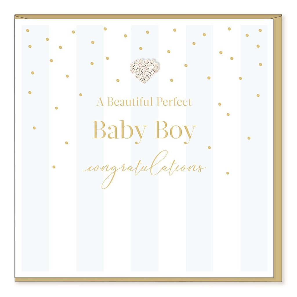 Perfect Baby Boy - Greeting Card