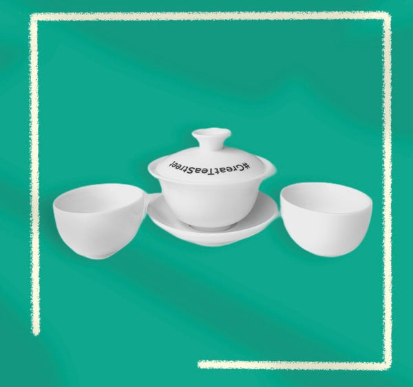 Ceramic Gaiwan Tea Set Bundle