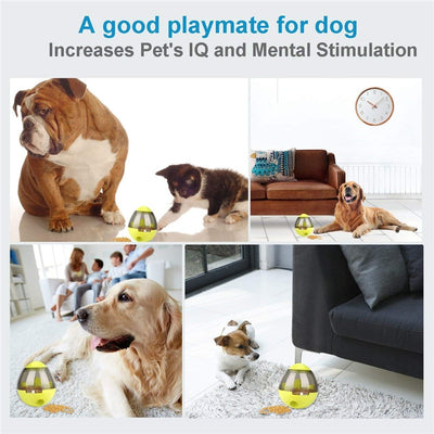 Interactive Dog Food Dispenser and Toy