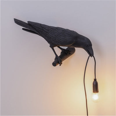 Unique LED Bird Lamp and Decor