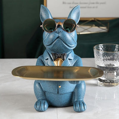 Cool Bulldog Table Decor