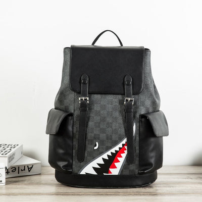 Stylish Shark Travel Backpack