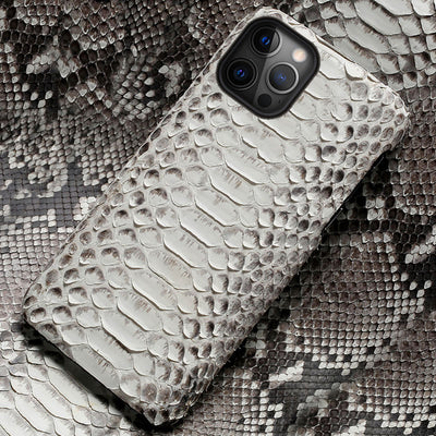 Python Leather iPhone Case