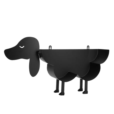 Black Dog Toilet Paper Holder
