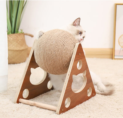 Cat Chew Toy and Scratcher