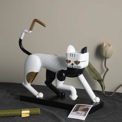 Cool Cat Figurine