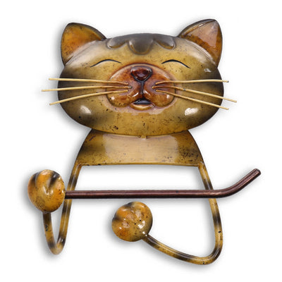 Smiling Cat Toilet Paper Holder