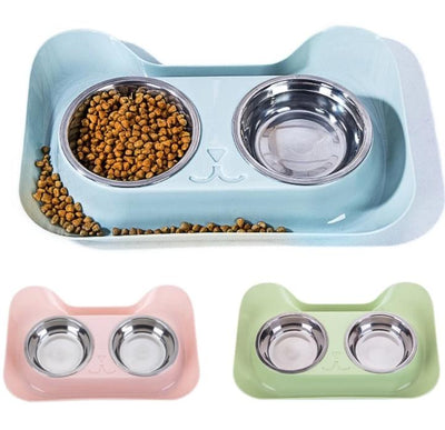 Spill Proof and Anti-Slip Stainless Pet Bowl