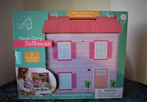 Hand Carry Dollhouse