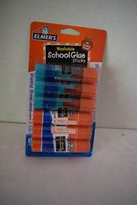 Elmer's pack of 6 Glue Sticks