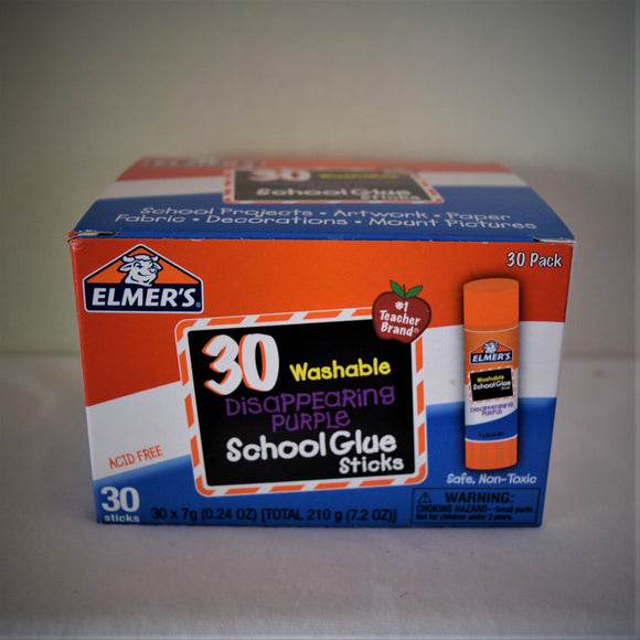 Elmer's 30 Washable Glue Sticks
