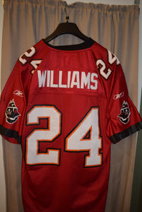 "Tampa Bay Buccaneer ""Cadillac Williams"" #24 Reebok Official NFL Jersey"