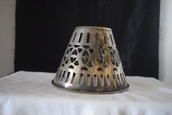 Silver Plated Single Lamp Shade