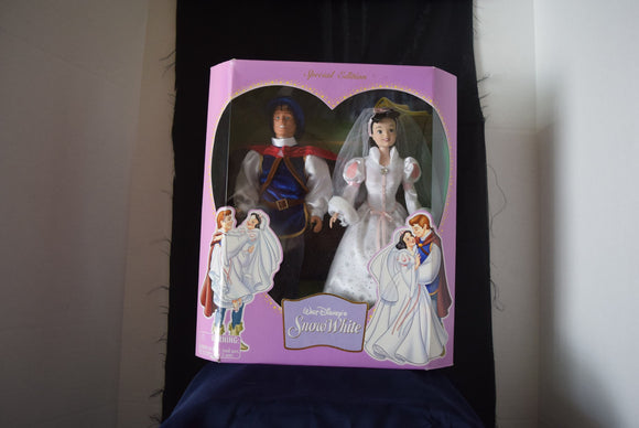 Disney Princess Snow White & Prince Charming Special Edition Wedding Doll Set Disney Parks Edition