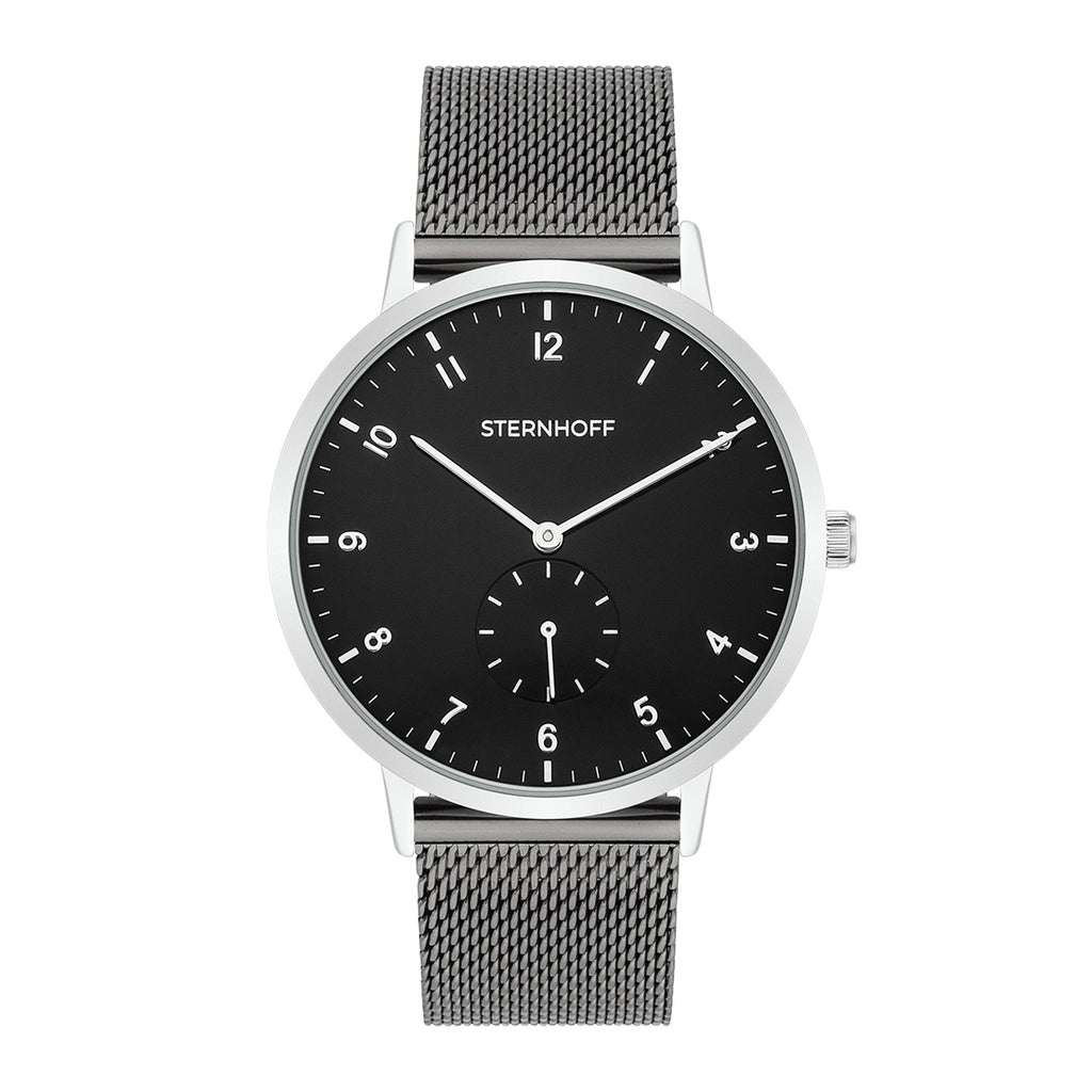 Gents watch grey silver