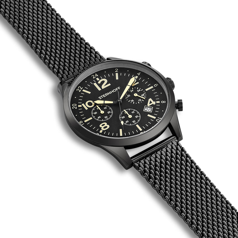Gents watch black black