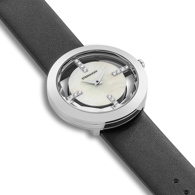 Ladies watch grey silver