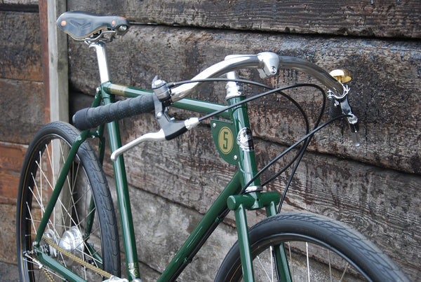Pashley Speed 5 british racing green