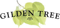 Gilden Tree Logo with green leaves