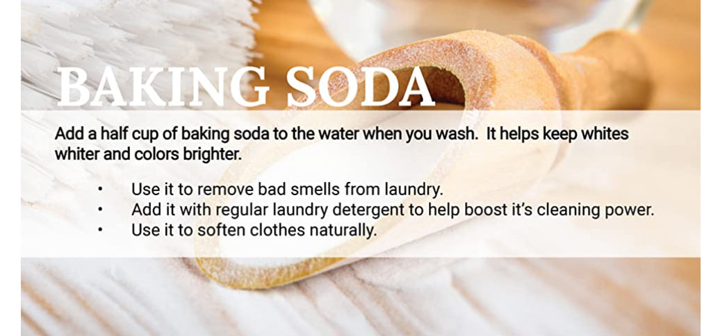 Using Baking Soda in the Laundry - Natural Laundering Tips