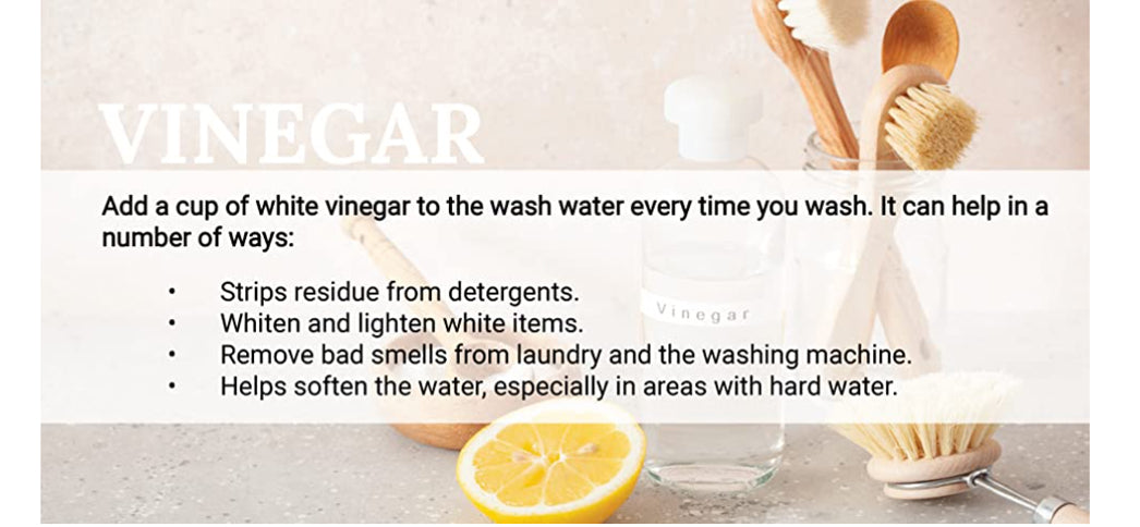 Using Vinegard - Natural Laundering Tips