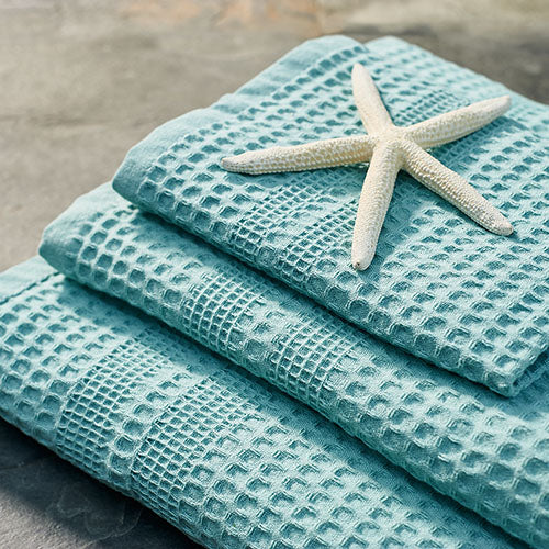 Gilden Tree | Waffle Bath Towels | Seafoam Bath Towel