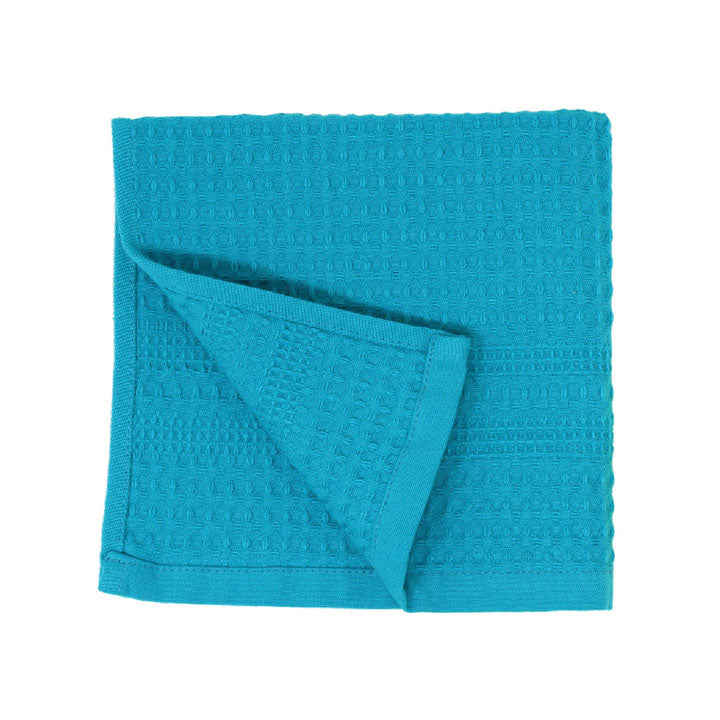 Waffle Bath Towels | Aqua Wash Cloth