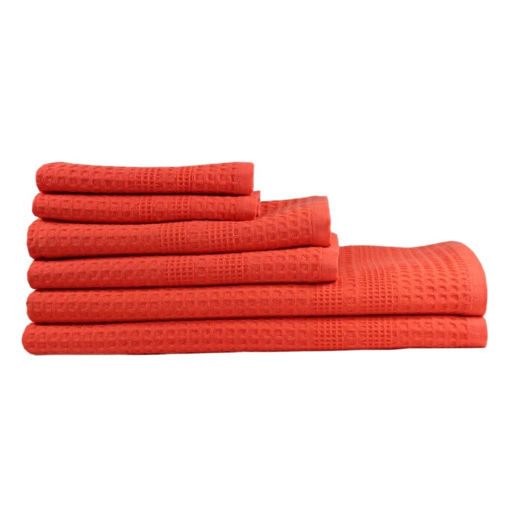 Gilden Tree | Bath Towel Set | Coral Waffle Bath Towel Set Gift Idea