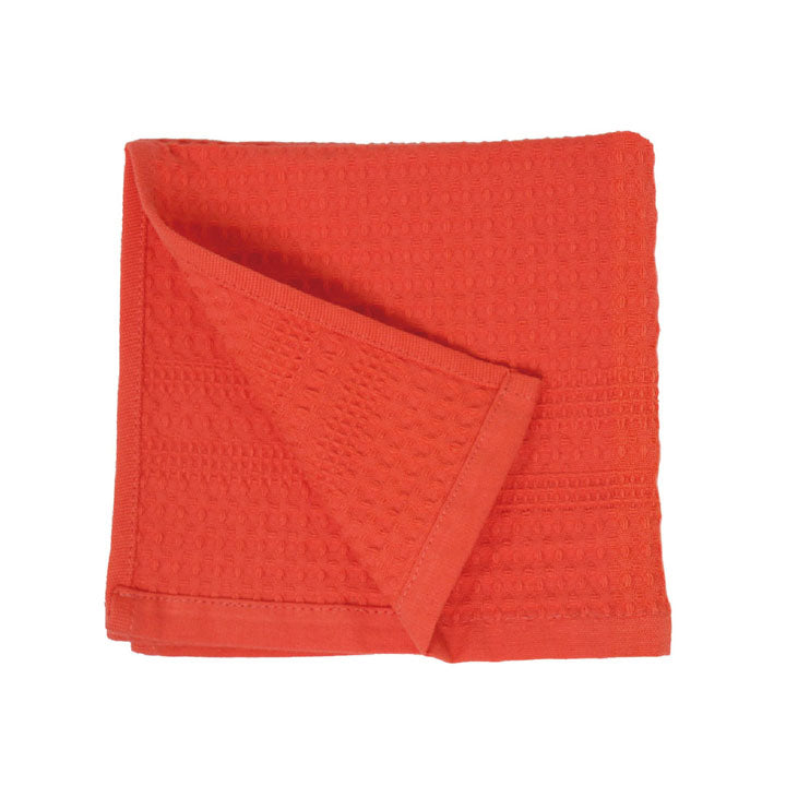 Gilden Tree | Waffle Bath Towels | Coral Wash Cloth