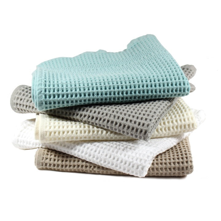 Gilden Tree | Waffle Bath Towels | Pewter Bath Towel