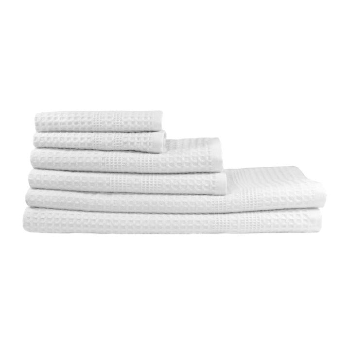 Gilden Tree | Bath Towel Set | White Waffle Towel Set Gift Idea