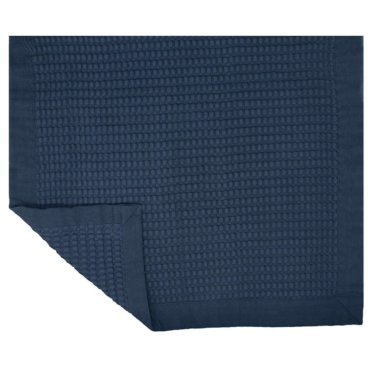 Gilden Tree | Waffle Bath Mats that dry quickly | Midnight Blue