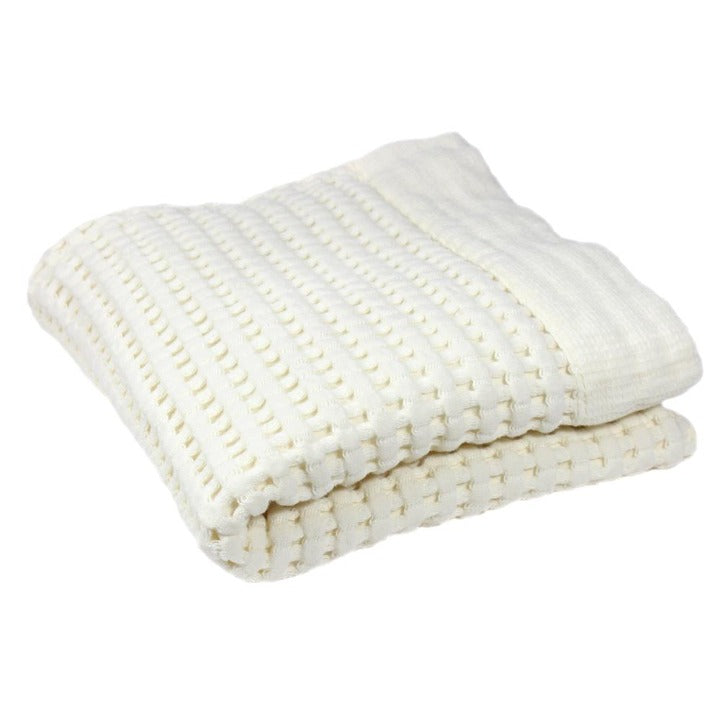 Gilden Tree | Waffle Bath Towels | Cream Hand Towel