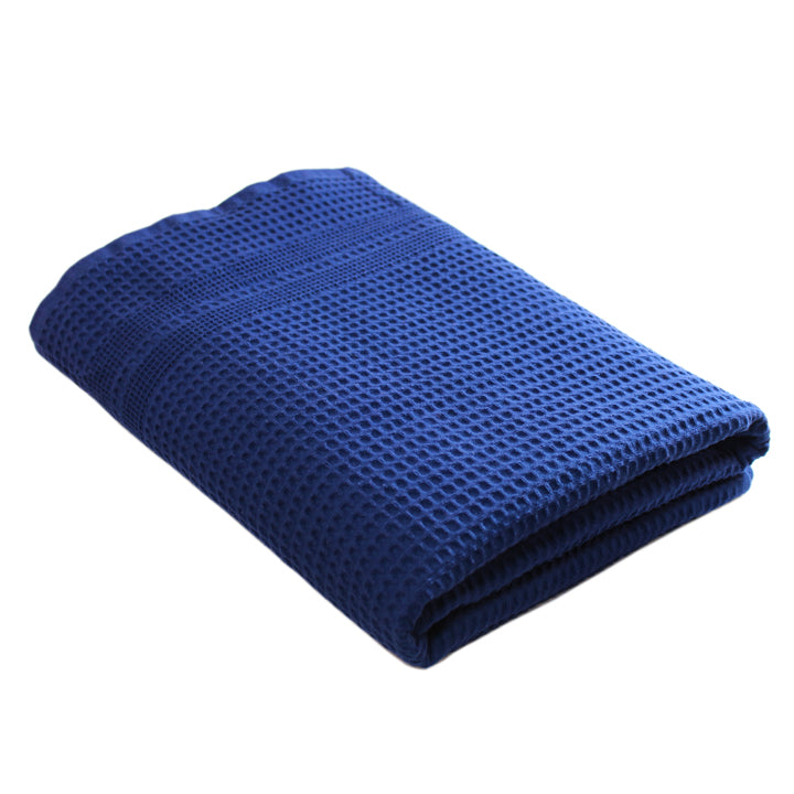 Gilden Tree | Waffle Bath Towels | Indigo Bath Towel