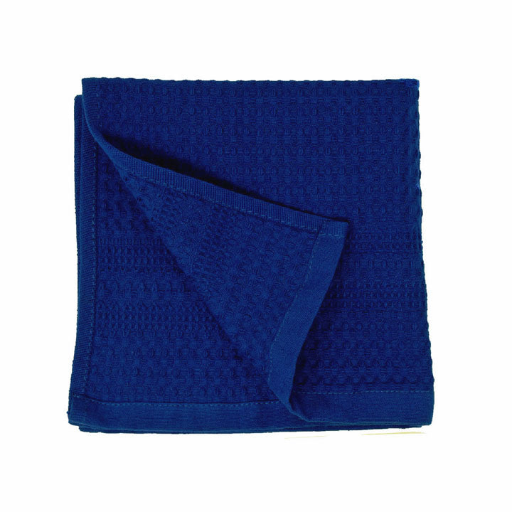 Gilden Tree | Waffle Bath Towels | Indigo Wash Cloth