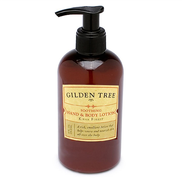 Gilden Tree | Best Lotion for Dry Skin | Soothing Hand & Body Lotion, Kiran Forest 8 oz.