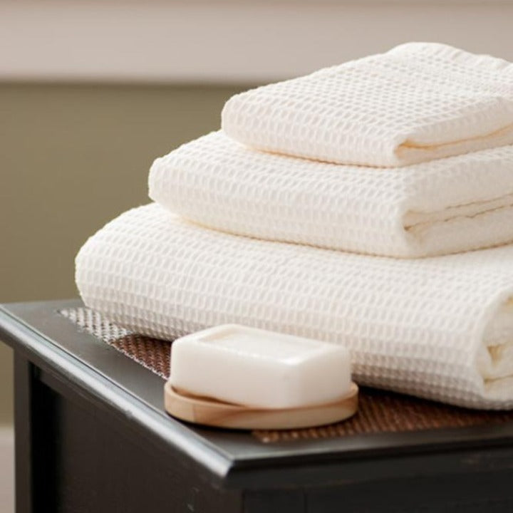 Gilden Tree | Oversized Waffle Bath Towels | Cream Bath Sheet
