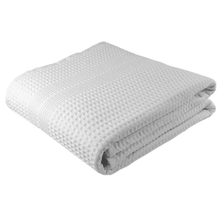Gilden Tree | Oversized Bath Towels | White Waffle Bath Sheet