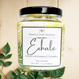 Exhale Single-Wick candle