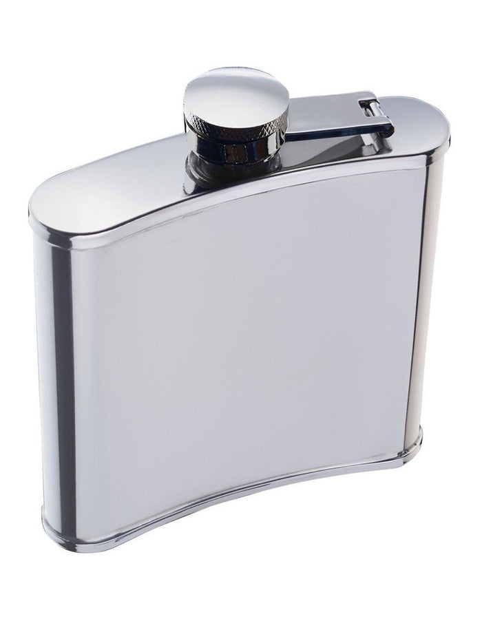 BARCRAFT BC Hip Flask 170ML Stainless Steel Gift Boxed