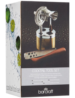 BARCRAFT BC Cocktail Tool Set 5pc Gift Boxed