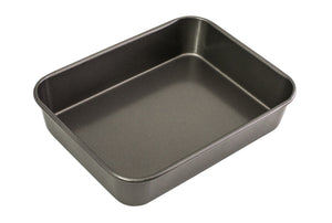 BAKEMASTER Medium Deep Roasting Pan 34 x 26 x 7cm