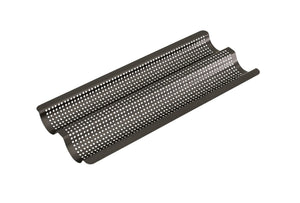 BAKEMASTER Perfect Crust Baguette Tray 39 x 16 x 2.5cm