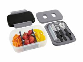 BUILT BT Gourmet Bento Deluxe Lunch Box 10pc Set