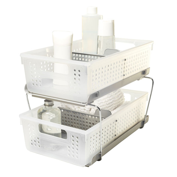 MADESMART Two Level Storage W/Dividers - PP