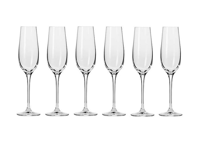 KROSNO KR Harmony Champagne Flute 180ML 6pc Gift Boxed