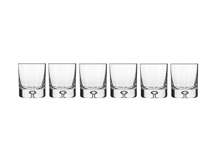 KROSNO KR Legend Whisky Glass 250ML 6pc Gift Boxed