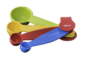 AVANTI Ribbed Measuring Spoons, Australian Standards - 4 Piece Set