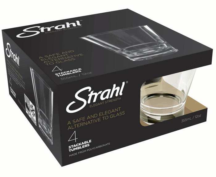 STRAHL Capella Stack Gift Pack 355ml Set of Four