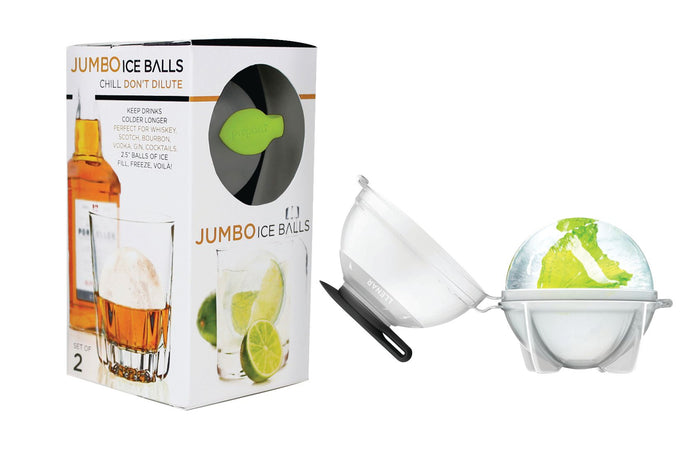 PREPARA Jumbo Ice Ball 2 Piece Set